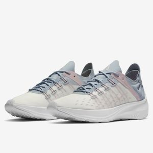 Nike EXP-X14b White Gray Lightweight Women's Shoes
